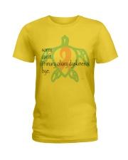 Sorry PCD b Ladies T-Shirt thumbnail