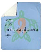 "Sorry PCD b Sherpa Fleece Blanket - 50"" x 60"" thumbnail"