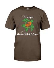I wear Orange for my Grandchildren Premium Fit Mens Tee thumbnail