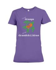 I wear Orange for my Grandchildren Premium Fit Ladies Tee thumbnail