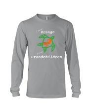 I wear Orange for my Grandchildren Long Sleeve Tee thumbnail