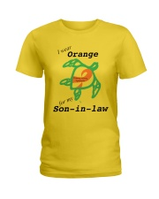 I wear Orange for my Son-in-law b Ladies T-Shirt thumbnail