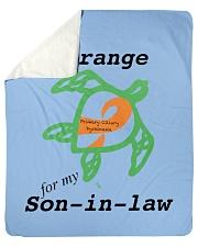 """I wear Orange for my Son-in-law b Sherpa Fleece Blanket - 50"""" x 60"""" thumbnail"""