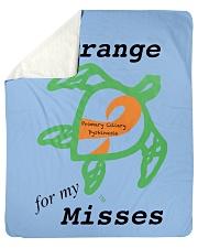 "I wear Orange for my Misses b Sherpa Fleece Blanket - 50"" x 60"" thumbnail"