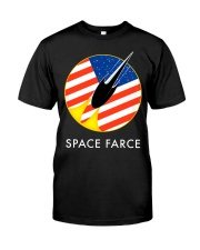 Space Farce Logo Classic T-Shirt front