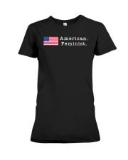 American Feminist Premium Fit Ladies Tee thumbnail