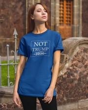 Not Trump 2020 Classic T-Shirt apparel-classic-tshirt-lifestyle-06
