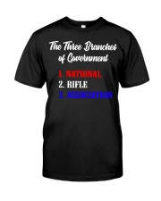 The Three Branches of Government Classic T-Shirt front