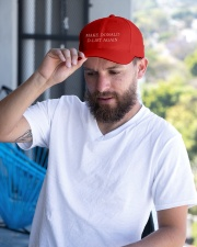 Make Donald D-List Again Embroidered Hat garment-embroidery-hat-lifestyle-05