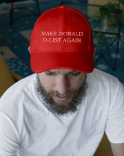 Make Donald D-List Again Embroidered Hat garment-embroidery-hat-lifestyle-06