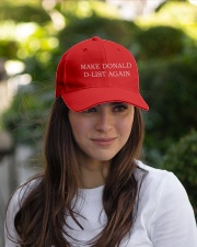 Make Donald D-List Again Embroidered Hat garment-embroidery-hat-lifestyle-07
