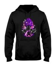 SSJ Rose Black Hooded Sweatshirt thumbnail