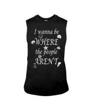 I WANNA BE WHERE THE PEOPLE AREN'T Sleeveless Tee thumbnail