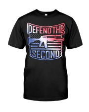 DEFEND THE SECOND TEES Classic T-Shirt thumbnail