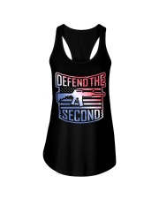 DEFEND THE SECOND TEES Ladies Flowy Tank thumbnail