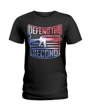 DEFEND THE SECOND TEES Ladies T-Shirt front