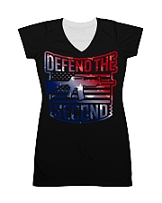 DEFEND THE SECOND TEES All-over Dress thumbnail