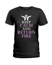 KEEP CALM Ladies T-Shirt front