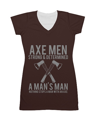 Axe Man  Strong and Determined T-Shirt