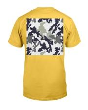 Gone Fishing Design Classic T-Shirt back