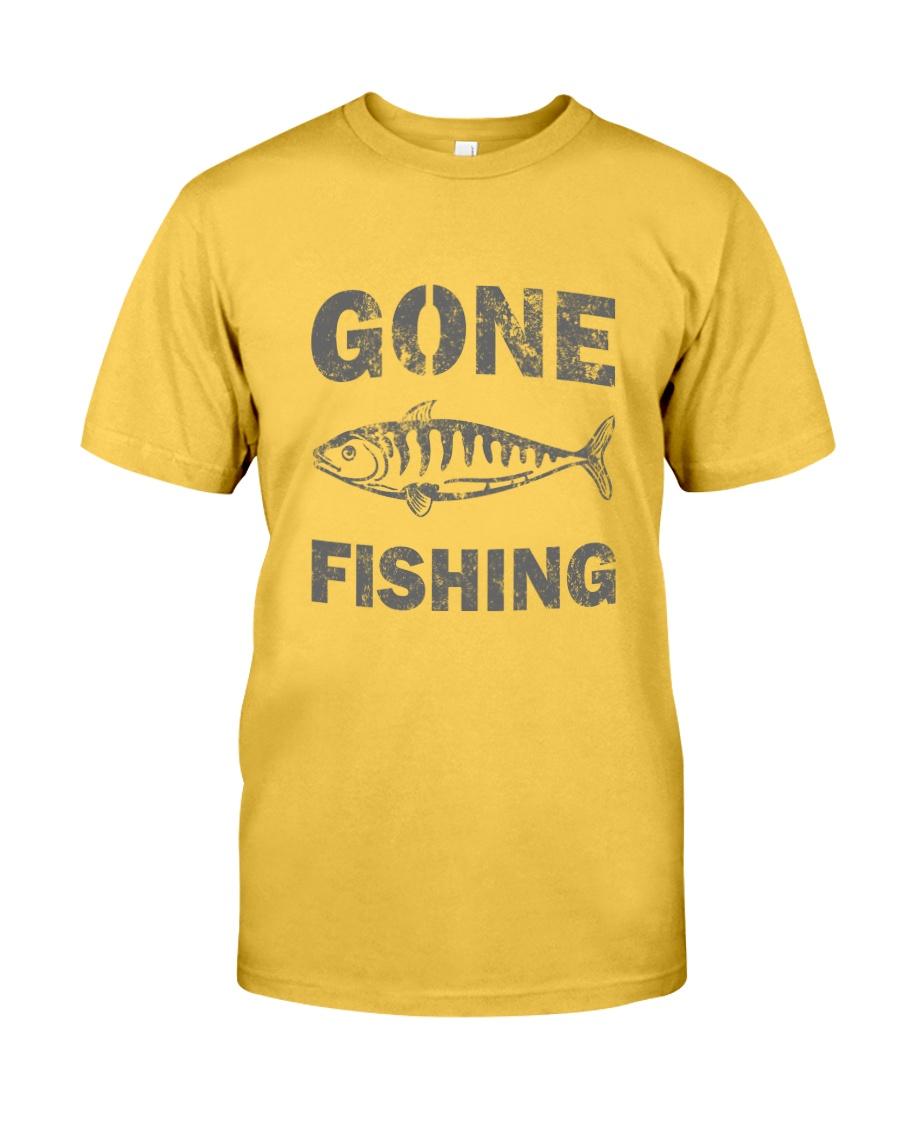 Gone Fishing Design Classic T-Shirt