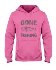 Gone Fishing Design Hooded Sweatshirt thumbnail