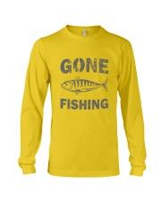Gone Fishing Design Long Sleeve Tee thumbnail