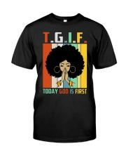 God first Classic T-Shirt front