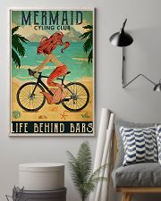 Mermaid cycling club 11x17 Poster lifestyle-poster-1
