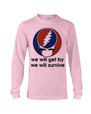 We Will Get By We Will Survive Long Sleeve Tee thumbnail