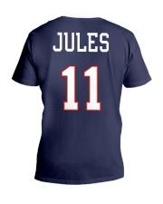 Jules 11 Jersey Style Shirts - Mugs - Beanies V-Neck T-Shirt thumbnail