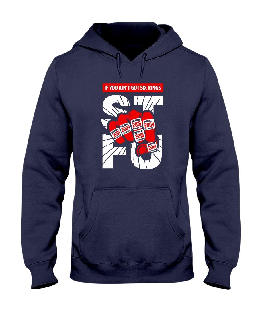 If You Ain't Got Six Rings Shirts - Mugs - Hoodies Hooded Sweatshirt