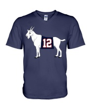 GOAT - Shirts - Mugs - Beanie n Hats V-Neck T-Shirt thumbnail