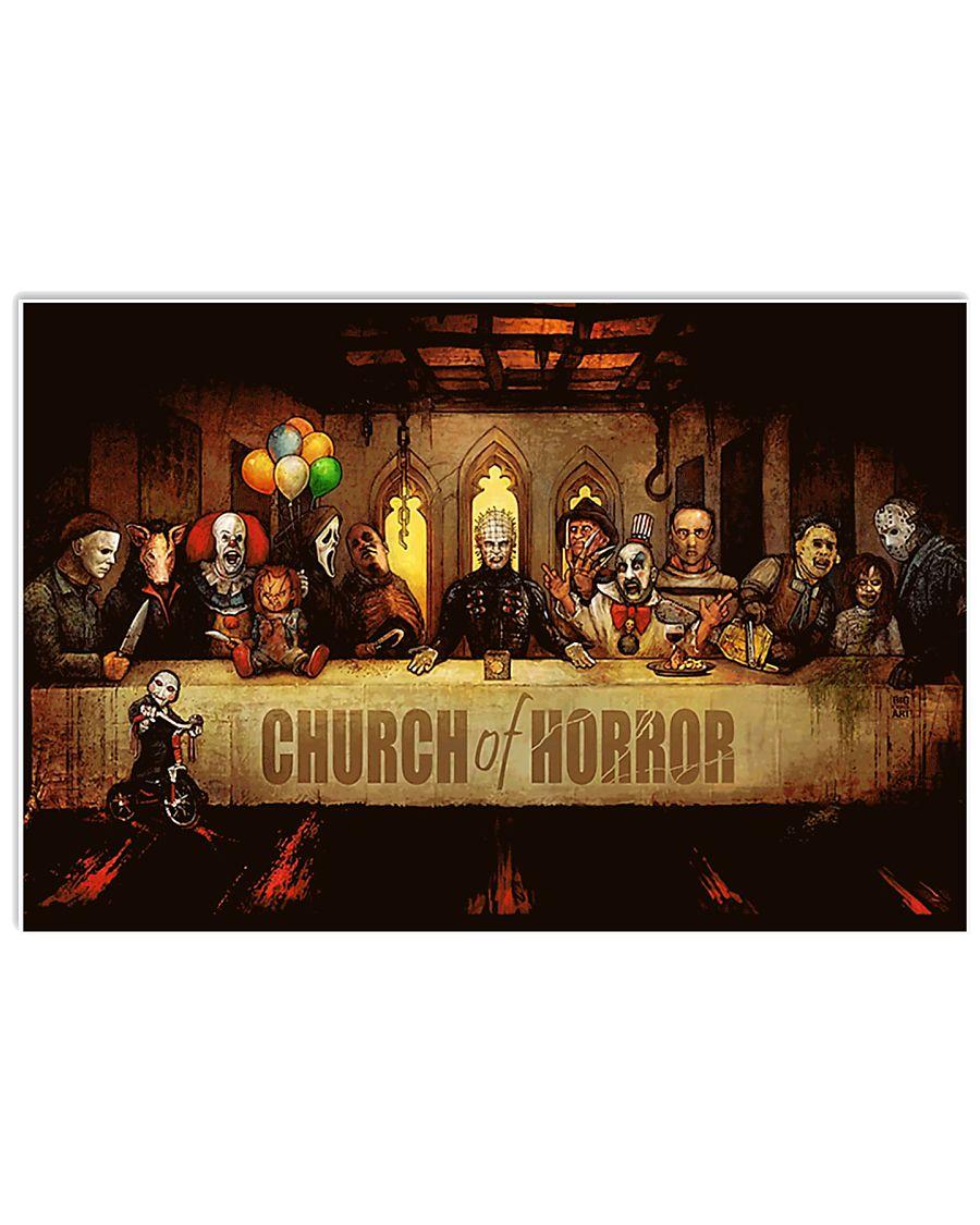 Church of Horror 17x11 Poster