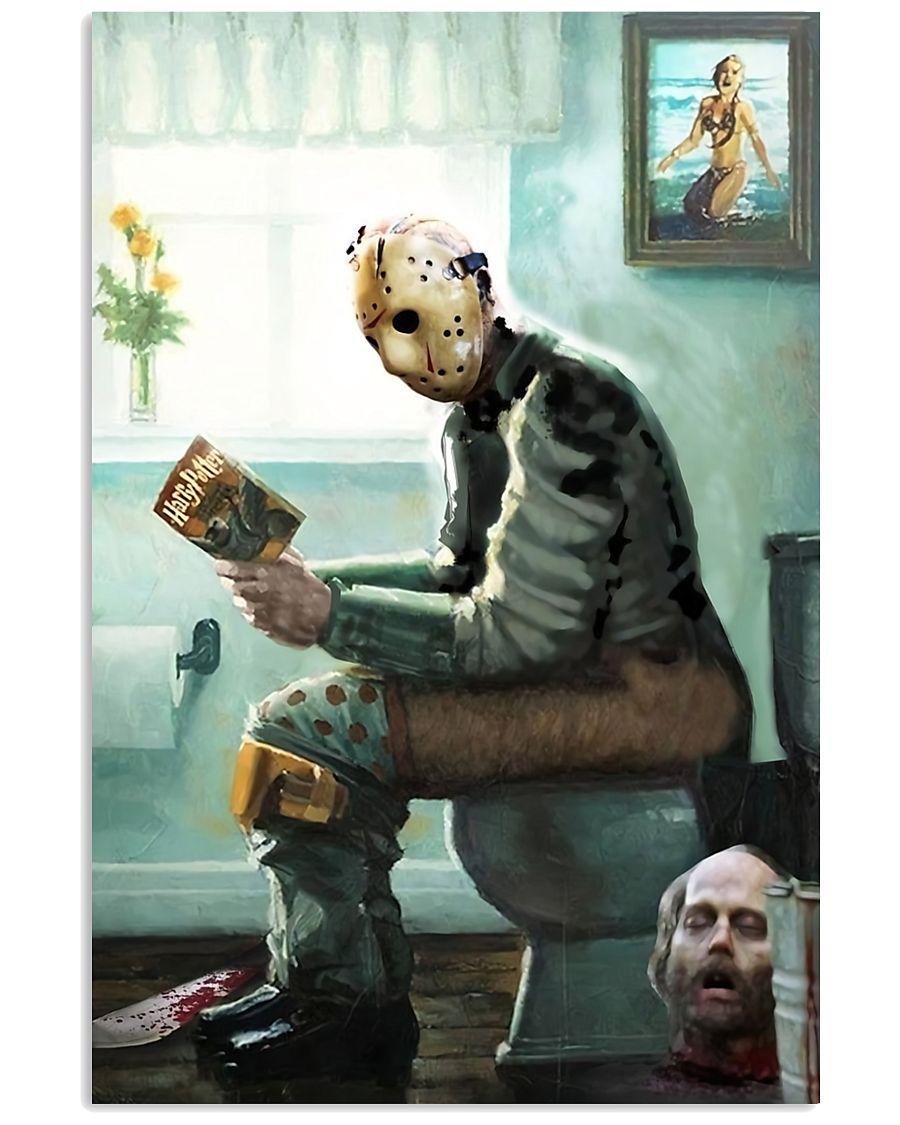 Jason in Bathroom 11x17 Poster