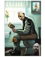 Jason in Bathroom 11x17 Poster front