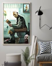 Jason in Bathroom 11x17 Poster lifestyle-poster-1