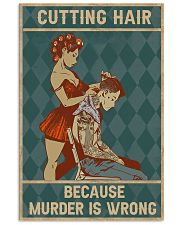 Cutting Hair 11x17 Poster front