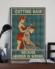 Cutting Hair 11x17 Poster lifestyle-poster-2