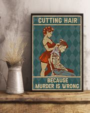 Cutting Hair 11x17 Poster lifestyle-poster-3