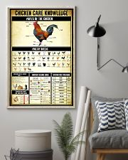 Chicken Care Knowledge 11x17 Poster lifestyle-poster-1