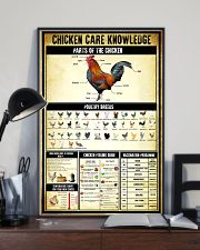 Chicken Care Knowledge 11x17 Poster lifestyle-poster-2