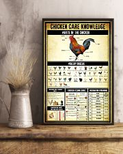 Chicken Care Knowledge 11x17 Poster lifestyle-poster-3
