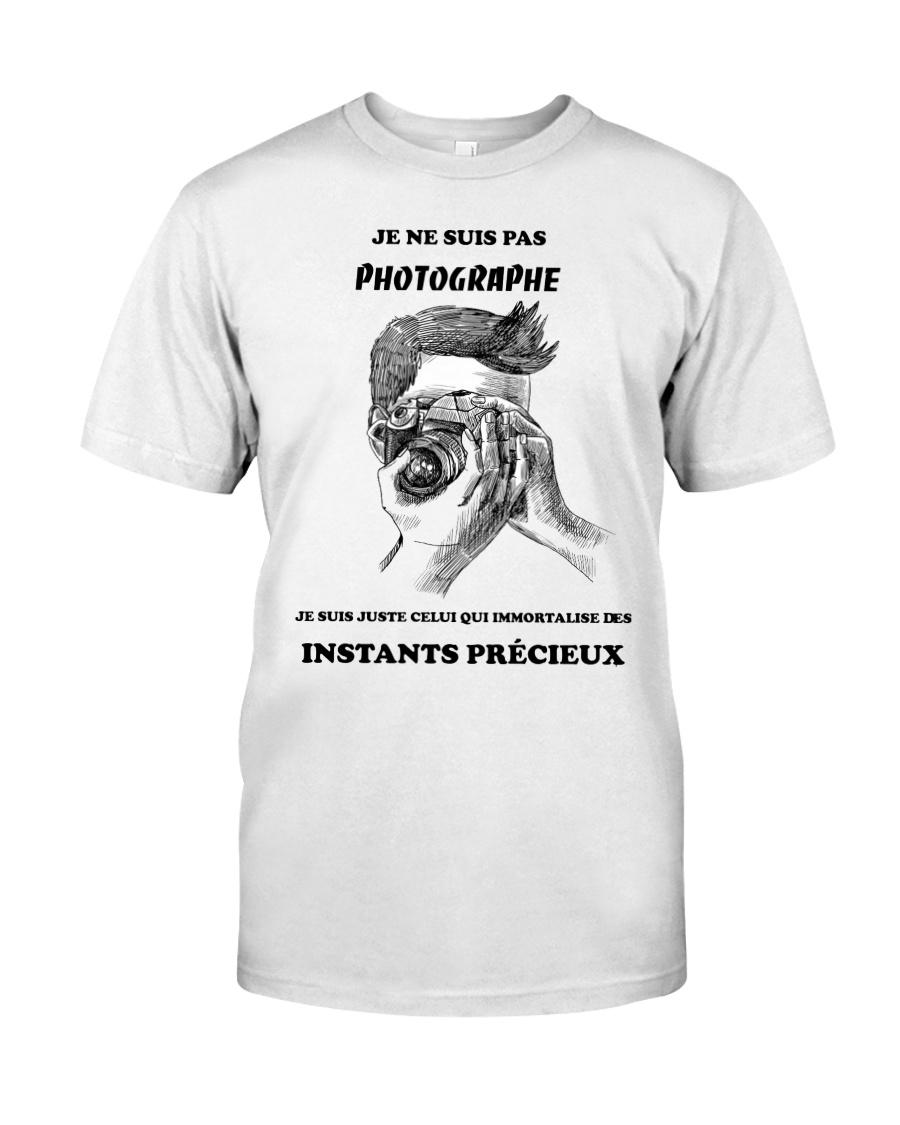 JE NE SUIS PAS PHOTOGRAPHE Classic T-Shirt