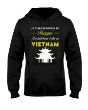 JE N AI PAS BESOIN DE THERAPIE Hooded Sweatshirt thumbnail