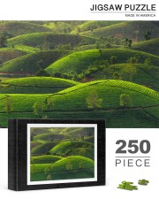 TEA HILL IN THE MORNING 250 Piece Puzzle (horizontal) aos-jigsaw-puzzle-250-pieces-horizontal-lifestyle-front-19