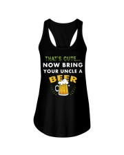 Uncle Thats Cute Now Bring Your Uncle A Beer funny Ladies Flowy Tank thumbnail