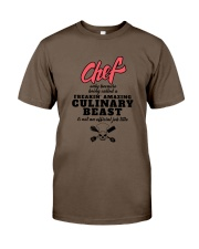CHEF Classic T-Shirt front
