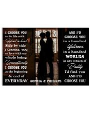 I CHOOSE YOU 24x16 Poster front