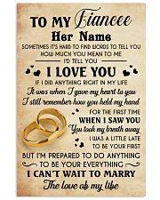 MARRY THE LOVE 16x24 Poster front